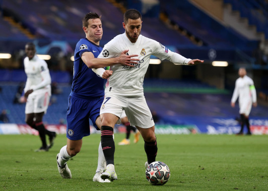 Eden Hazard is keen on returning to Chelsea, according to reports in Spain
