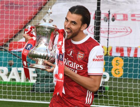 Dani Ceballos helped Arsenal win the FA Cup last season