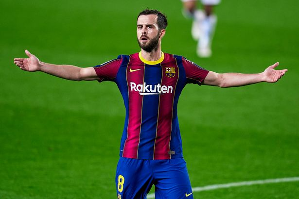 Barcelona's Miralem Pjanic could be on the move again this summer