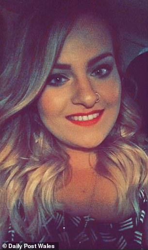 Lauren Briggs, from Connah's Quay, North Wales, is lucky to be alive after suffering a 'horrendous headache' within days of getting her jab