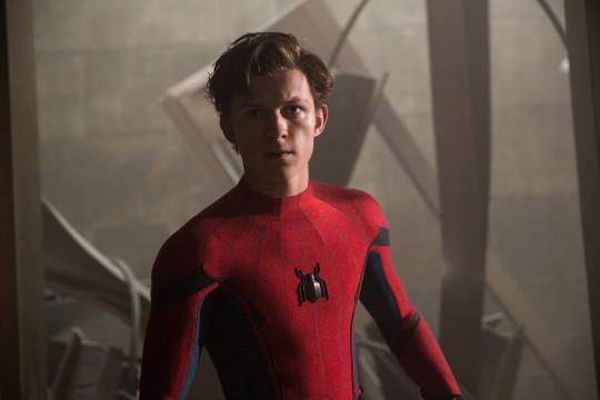 Tom Holland stars as Spider-Man.