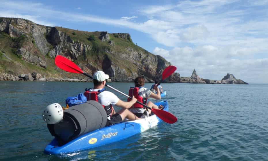 Sea Kayaking and Wild Camping in South Devon with Reach Outdoors