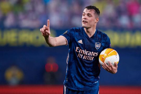 Arsenal want around €25m for Roma transfer target Granit Xhaka