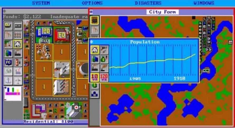 Designs on your time … SimCity.