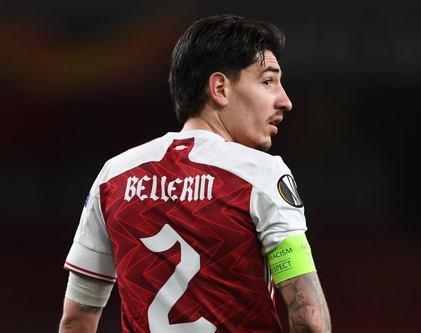 Hector Bellerin's future at Arsenal is in doubt
