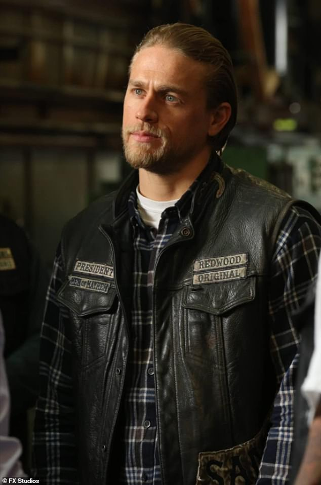 Claim to fame: It's not the only bikie connection the Hollywood heartthrob has, having found fame playing a motorcycle gang boss in Sons of Anarchy