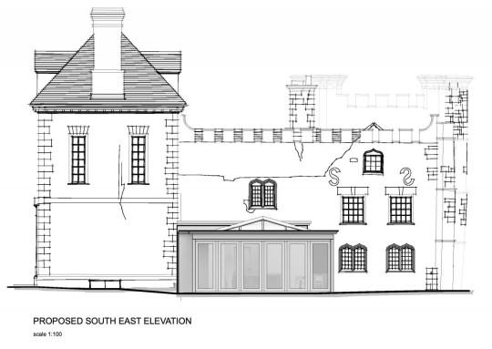 Richard Hammond's plans for Bollitree Castle