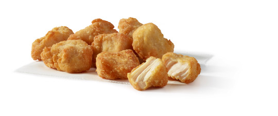 chicken nuggets from the wendy's uk menu