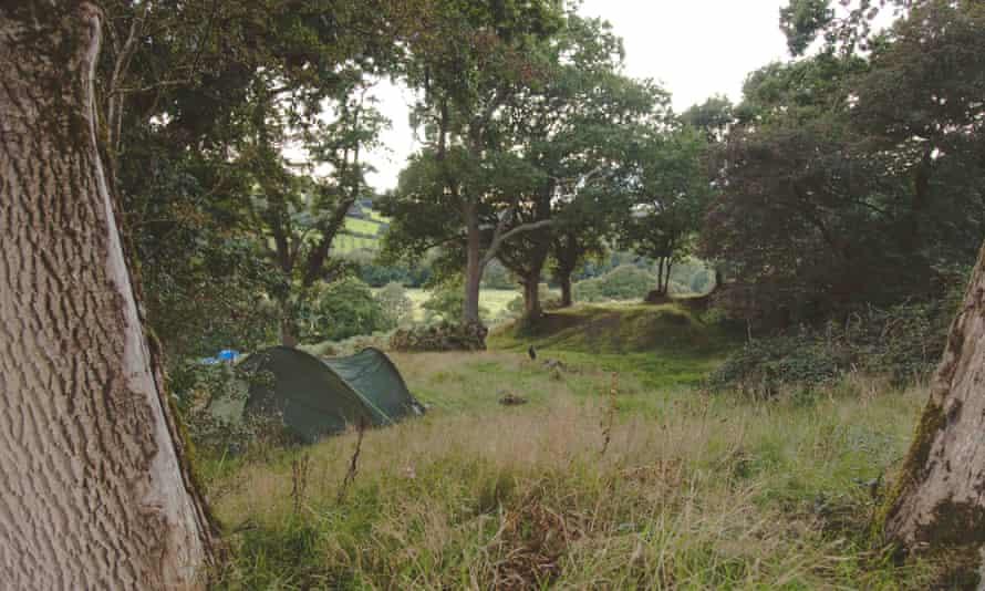 Bush Farm camping, Cornwall