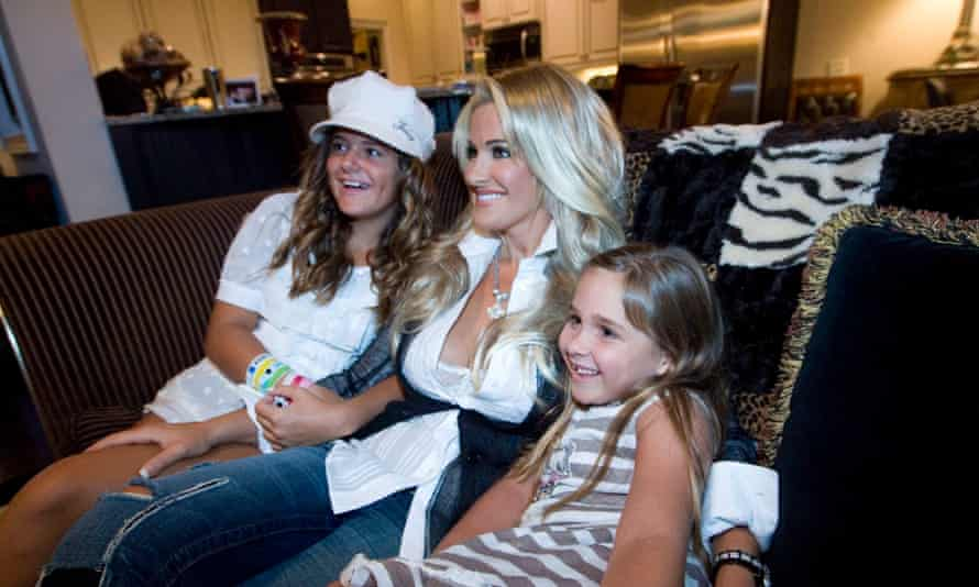 Brielle Biermann (on left) and her mother on The Real Housewives Of Atlanta