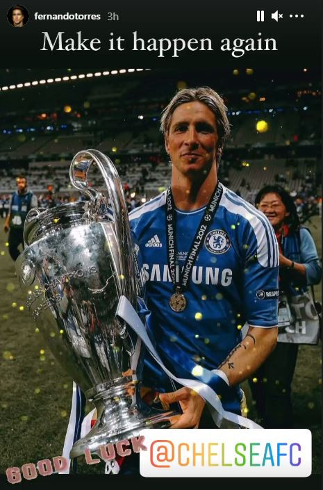 Fernando Torres played a key role in Chelsea's Champions League success in 2012