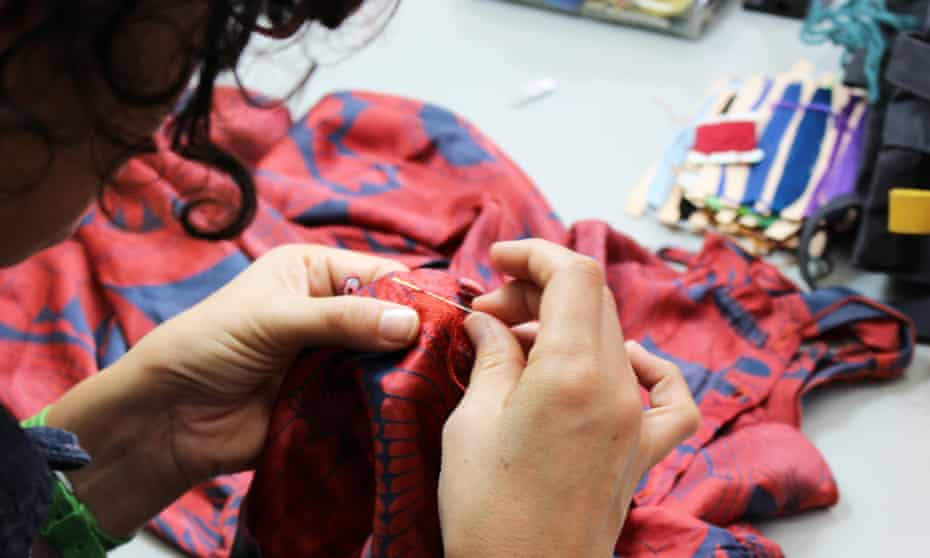 Mending your clothes course - West Dean college of Arts and Conservation