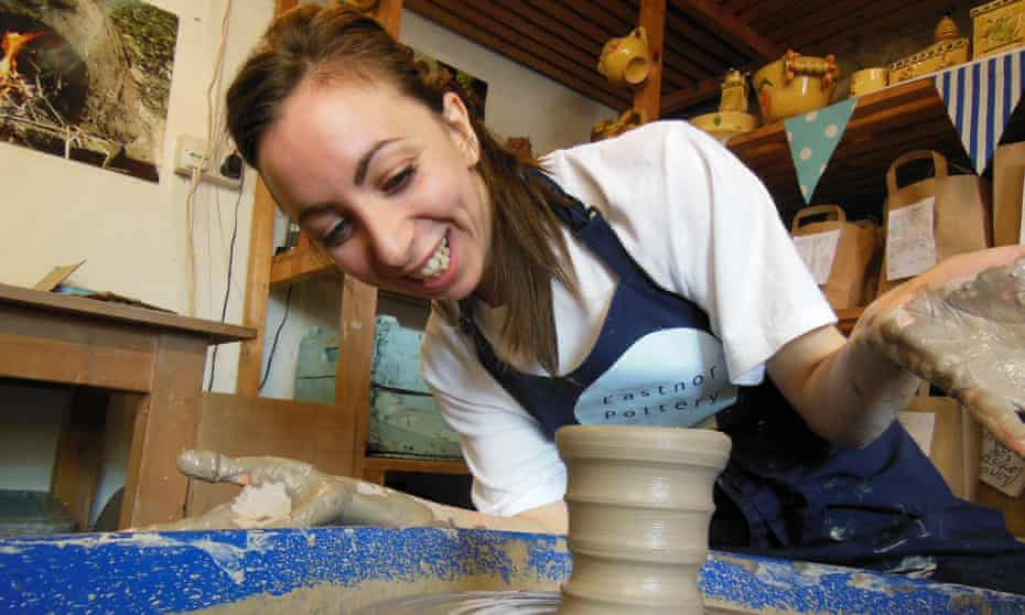 Eastnor Castle and Eastnor Pottery