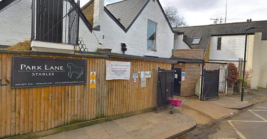 Riding charity for disabled children still evicted after raising ?1 million Park lane stables Teddington google maps metro