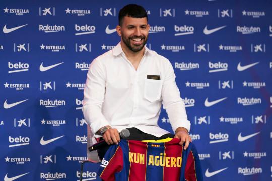 Aguero became Man City's all-time record goalscorer
