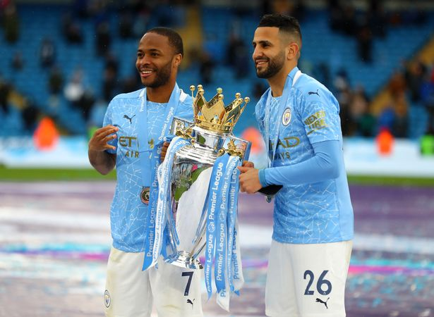 Manchester City are reportedly willing to sell Raheem Sterling and Riyad Mahrez