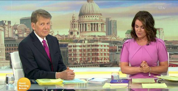 Bill Turnbull and Susanna Reid- Good Morning Britain