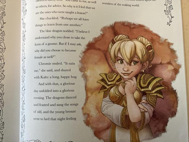 Страница из World of Warcraft: Folks & Fairy Tales