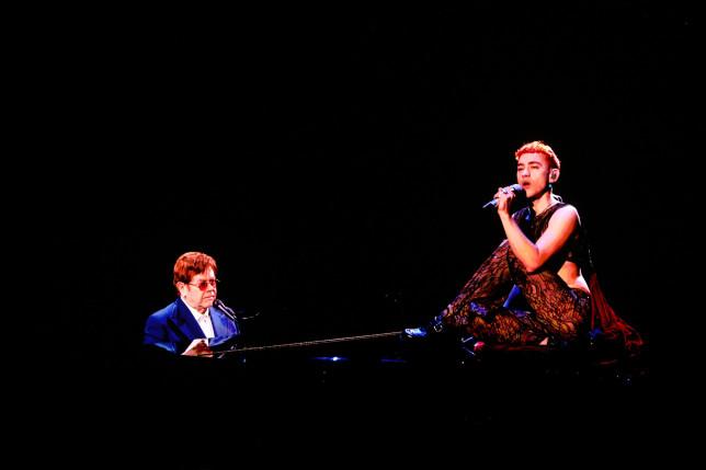 Elton John and olly Alexander