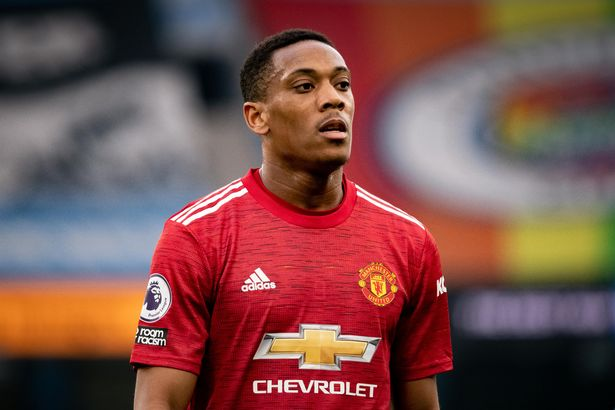 Anthony Martial has struggled with form and injuries in 2020/21