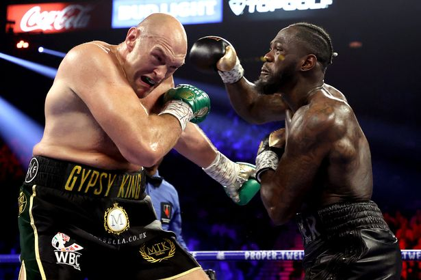 """Deontay Wilder has vowed to """"decapitate"""" Tyson Fury"""