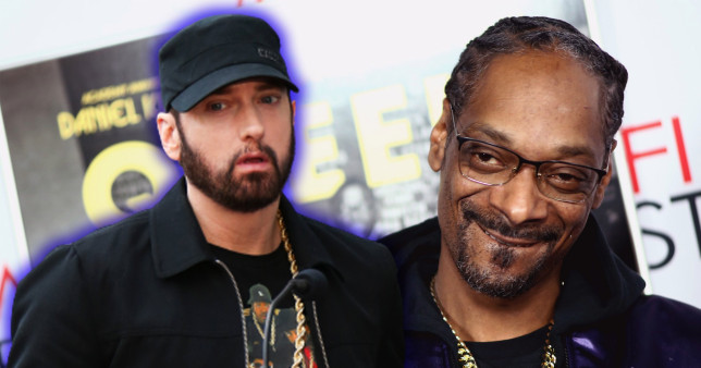 Eminem and Snoop Dog have had beef for the past year