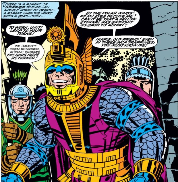 Ajak in Marvel's Eternals.