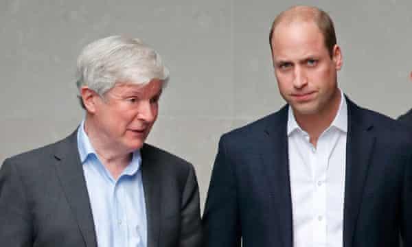 Tony Hall and Prince William