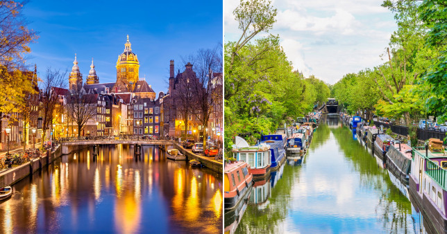 Amsterdam and Little Venice