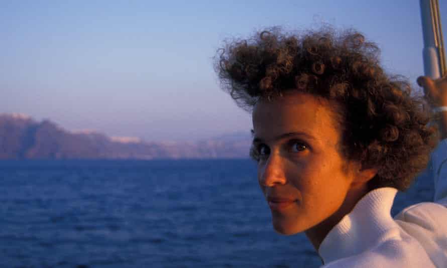 Mary Haropoulou Santorini 05 Sept 1988