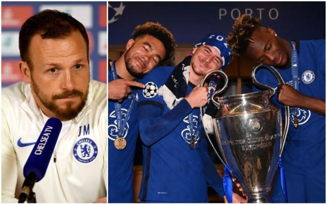 Jody Morris sent a classy message to Chelsea's Champions League winners