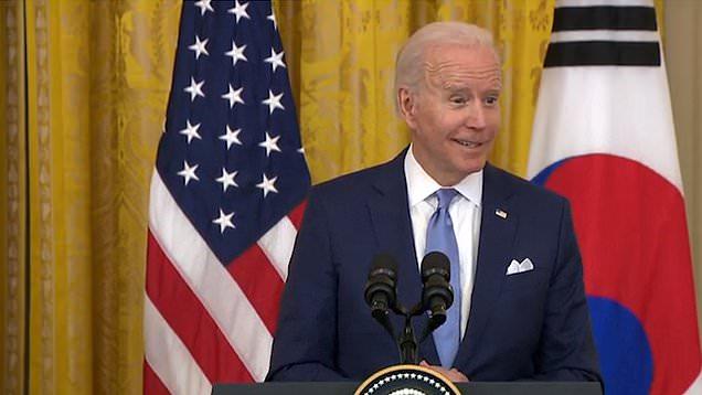 Joe Biden tells South Korea's President Moon: 'K-pop fans are universal'