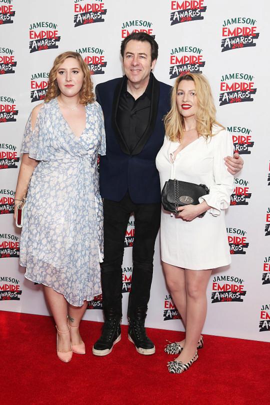 Honey Ross with Jonathan Ross and Jane Goldman