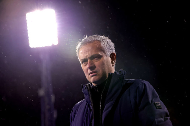 Jose Mourinho was appointed by Roma earlier this month