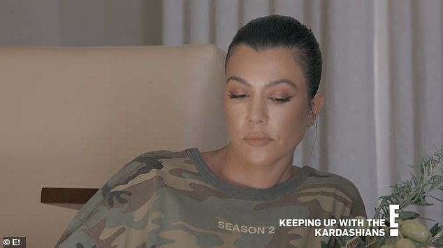 Over:Kourtney Kardashian has finally addressed - and denied - rumours that she was the driving force behind the end of Keeping Up With the Kardashians
