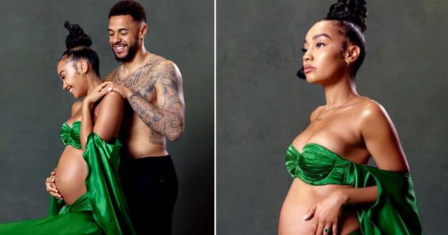 Leigh-Anne Pinnock pregnancy photo shoot