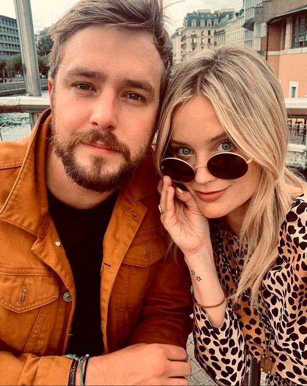 Laura Whitmore and husband Iain Stirling, 33, have yet to announce the gender of their baby