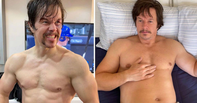 Mark Wahlberg's weight gain for a film role