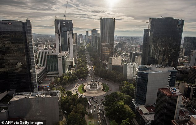 Mexico City is sinking at an 'unstoppable' with some parts decompressing up to 20 inches a year over the past decades