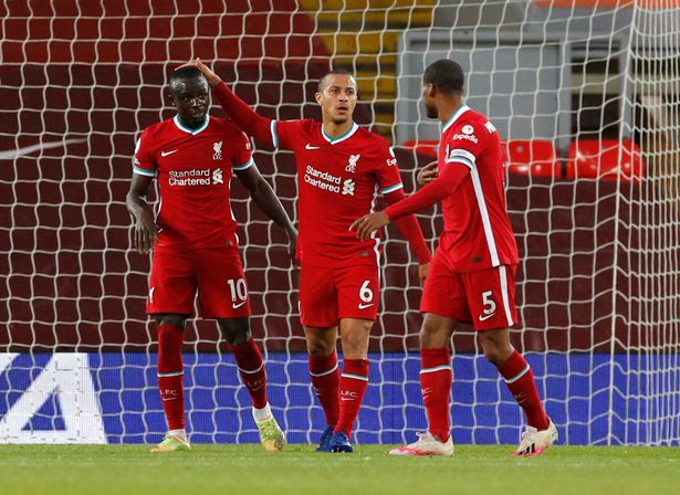 Goals from Mane and Thiago earned Liverpool a 2-0 win over Southampton