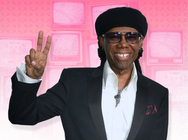 Nile Rodgers has 11 TVs on switched on in his house for white noise