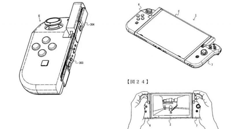 Switch 2 Joy-Con patent