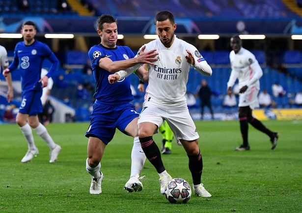 Eden Hazard has struggled at Real Madrid since joining from Chelsea in 2019