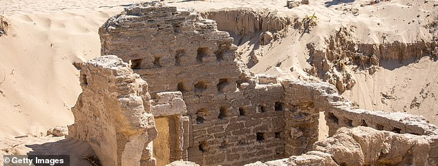 The sand on Cádiz's Caños de Meca beach preserved this 1st century bath complex, which still has a door, windows and walls intact