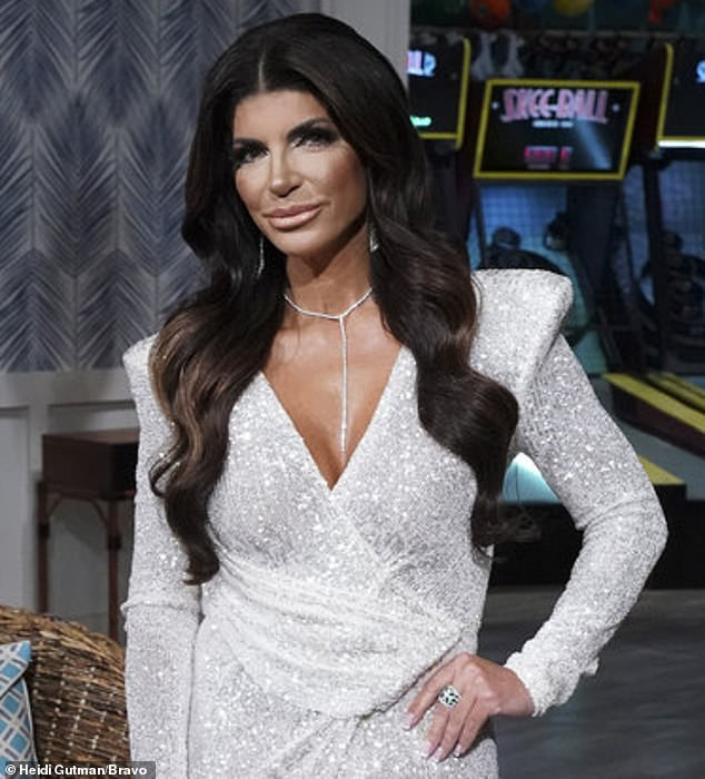 Fessing up: Teresa Giudice, 49, wasn't shy about admitting to using lip fillers after Andy Cohen asked about her new look on the Real Housewives Of New Jersey reunion on Thursday