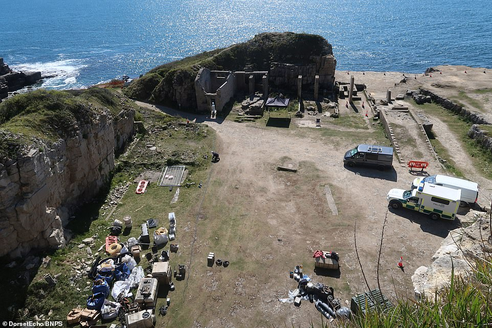 New location:Filming continued in a coastal hotspot far, far away on Saturday as work resumed on the set of the new Disney+ series, Star Wars: Andor