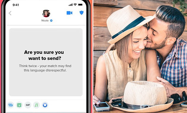 Tinder to launch new feature to reduce the number of hateful messages sent  on the dating app - NewsGroove Uk