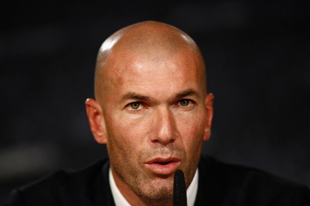 Zidane insists he has not told his players he will be leaving at the end of the season