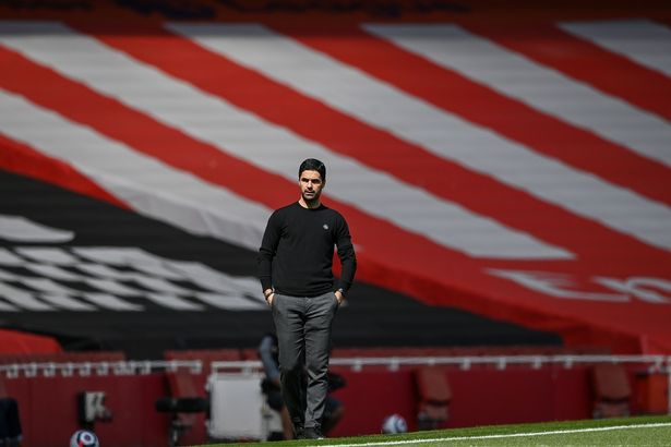 Arteta would have been criticised more if fans were in last season