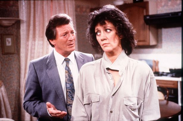 It transpires that Sally Ann is actually related to Amanda Barrie